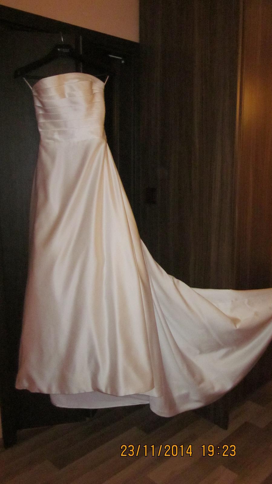Romantické šaty-style Pronovias  - Obrázok č. 2