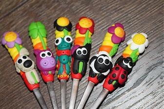 I z týchto budú nejaké... lyžičky a menovka v jednom pre detičky ako darček :)