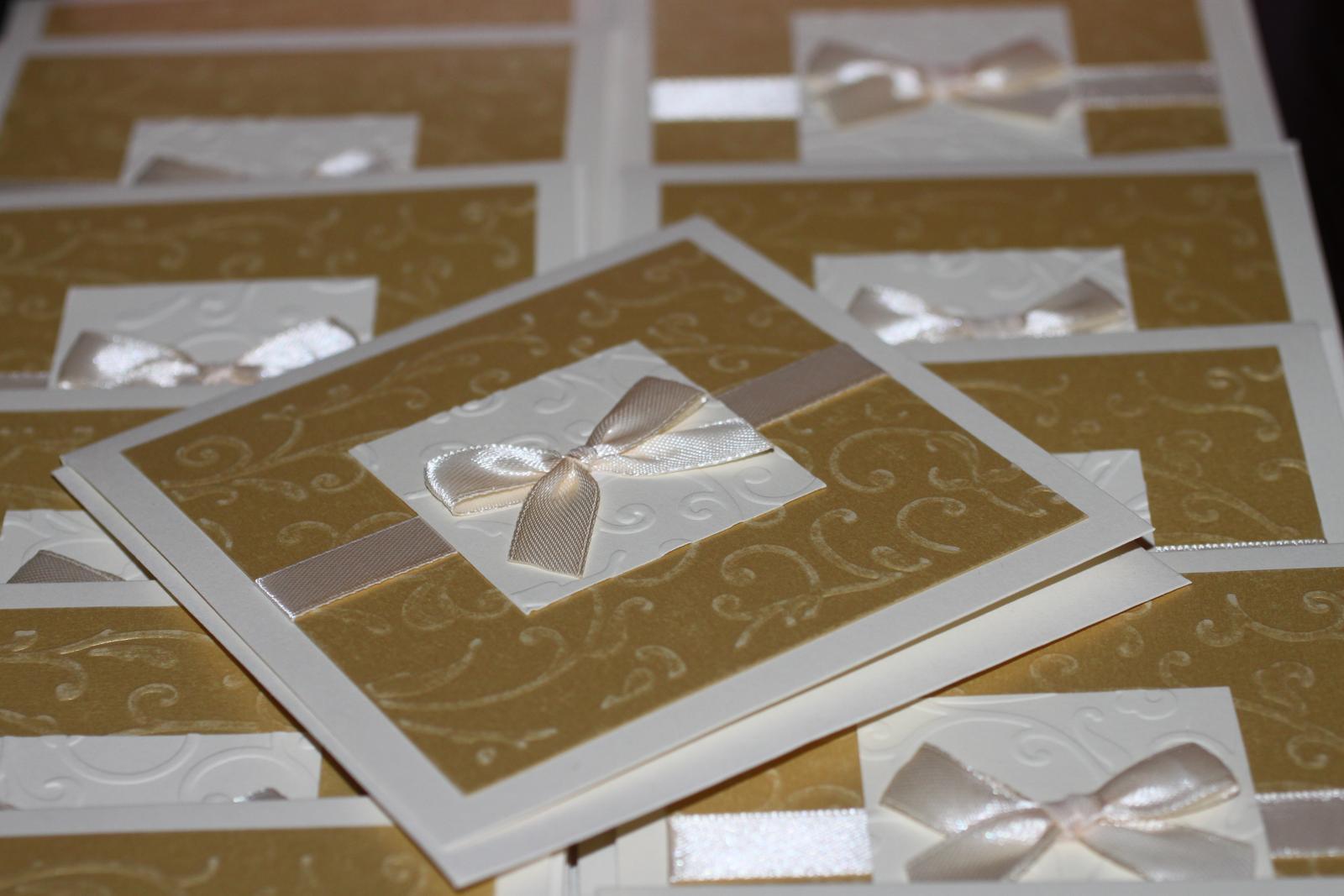 Naše prvé svadobné návrhy a prípravy - Bola to makačka, ale zvládli sme to :) 60 kusov myslím bude stačiť. Ak nie, tak ešte dorobíme :)