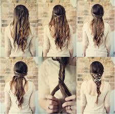 K jednoduchým šatám... jednoduché vlasy... takto nejako si to predstavujem :)