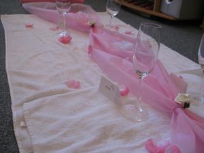zkouška svatební tabule
