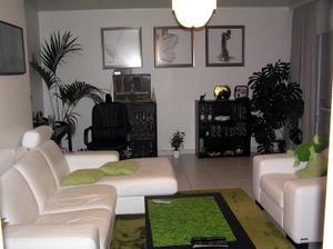 Z obývacího pokoje zůstane sedací souprava a koberec