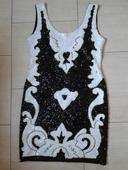 spoločenské luxusné šaty, M