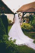 Svatební šaty vel. 34, 34
