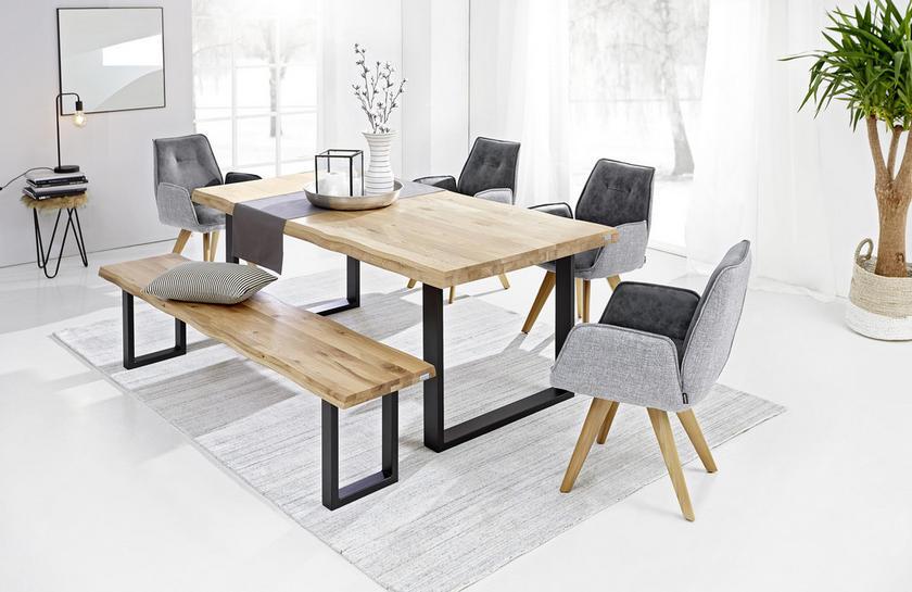 Prosím o radu - kdo máte masívní dubový stůl z xxxl lutz, který je kartáčovaný a olejovaný - zůstane světlý, nebo časem zežloutne ? Děkuji za odpovědi - Obrázek č. 1