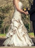 svadobné šaty značky Diane Legrand, 38