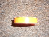 Stuha slabá oranžová,