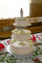 Náš svatební dort.