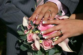 Naše prstýnky s kytičkou!