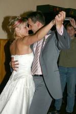 První taneček.
