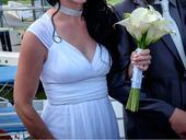 Svatební šaty v antickém stylu, vel. 36, 36