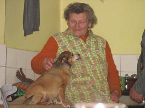 Andíček měl babičku moc rád...