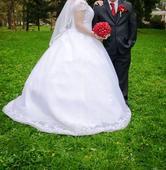 Svatební šaty - sleva, 44