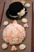 Dekorace na auto pro nevěstu a ženicha,