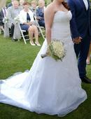 Korzetové svatební šaty , 40