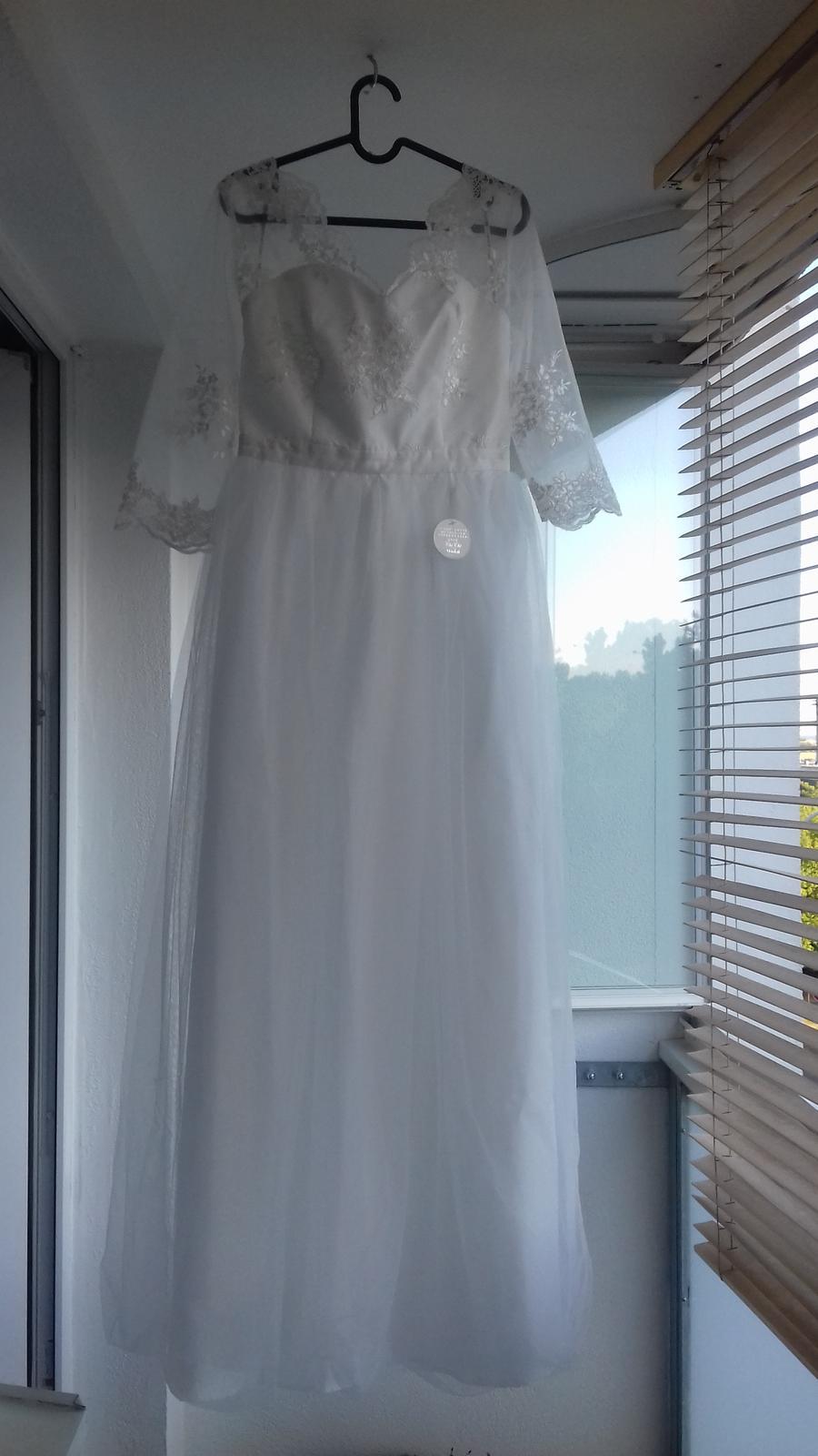 Jednoduché svatební šaty - značka Chi Chi London - Obrázek č. 1