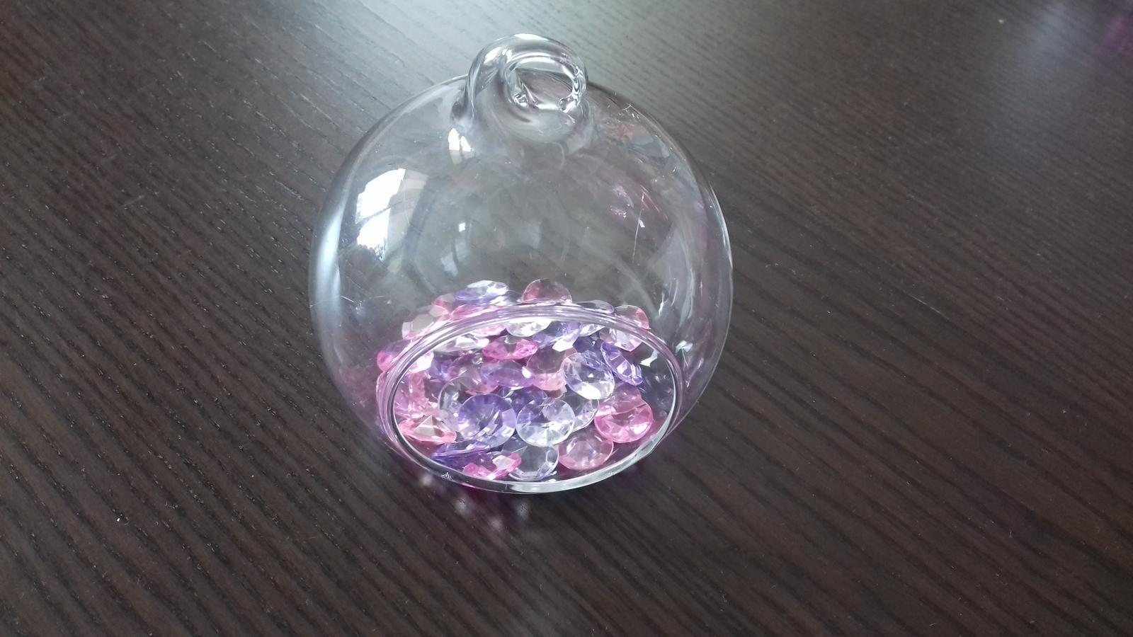 Skleněné koule průměr 10 a 8 cm - Obrázek č. 2