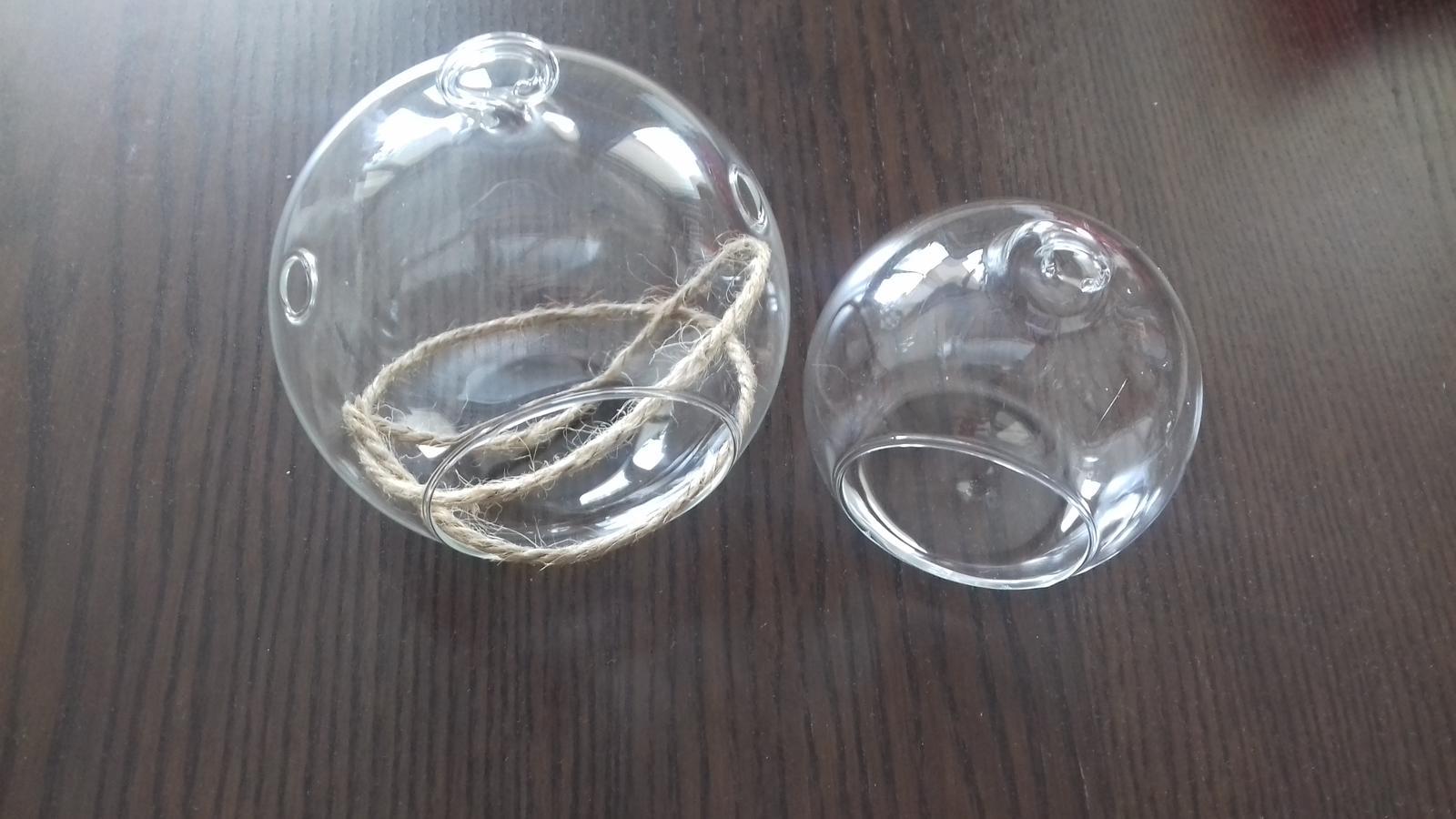 Skleněné koule průměr 10 a 8 cm - Obrázek č. 1