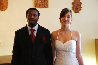 už jako manželé..a já paní Nnaji:-)