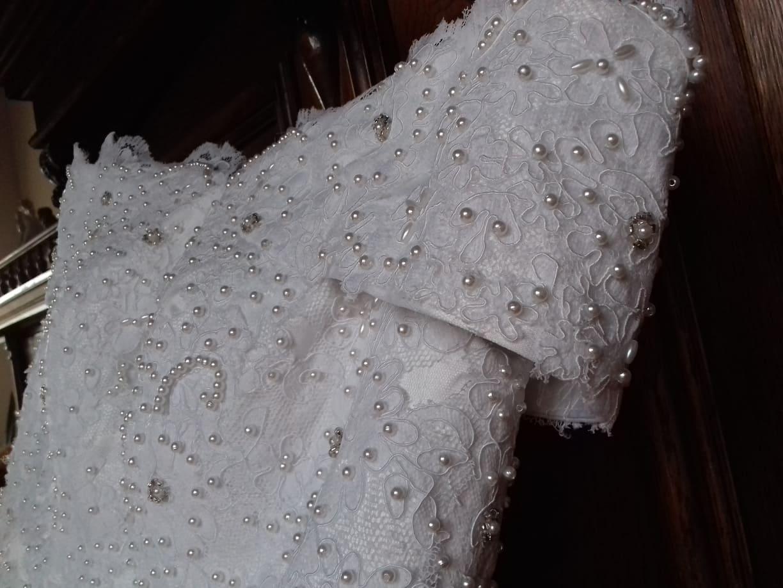 Svatební šaty Vintage - Obrázek č. 3