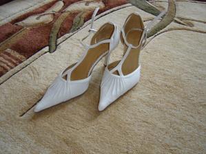 Moje svadobné topánočky.