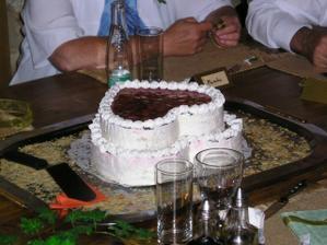 hrůůůza dort, v cukrárně nám vše odsouhlasili a výsledek :(