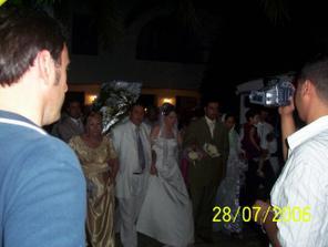 tuniská nevěsta a ženich