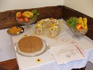 další dorty se svatebními novinami