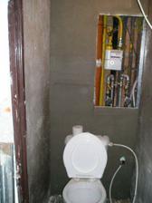 nová zadná stena WC