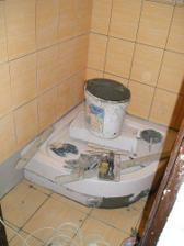 osadená vanička sprchového kúta