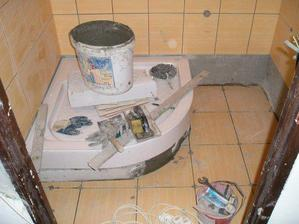 dlažba v kúpeľke