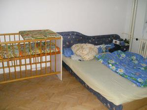 detská a zatiaľ aj spálňa