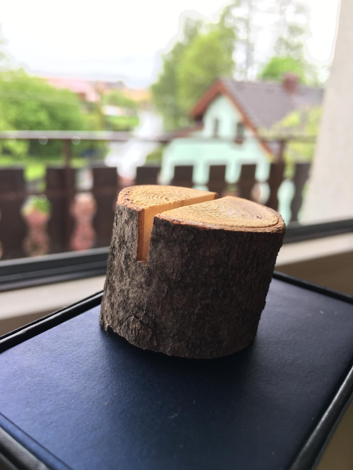 Dřevěná kolečka na jmenovky - Obrázek č. 1