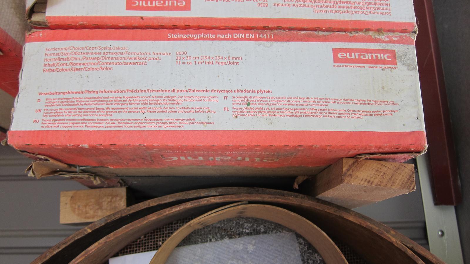 Nové nepoužité keramické dlaždice 30x30 - Obrázok č. 1