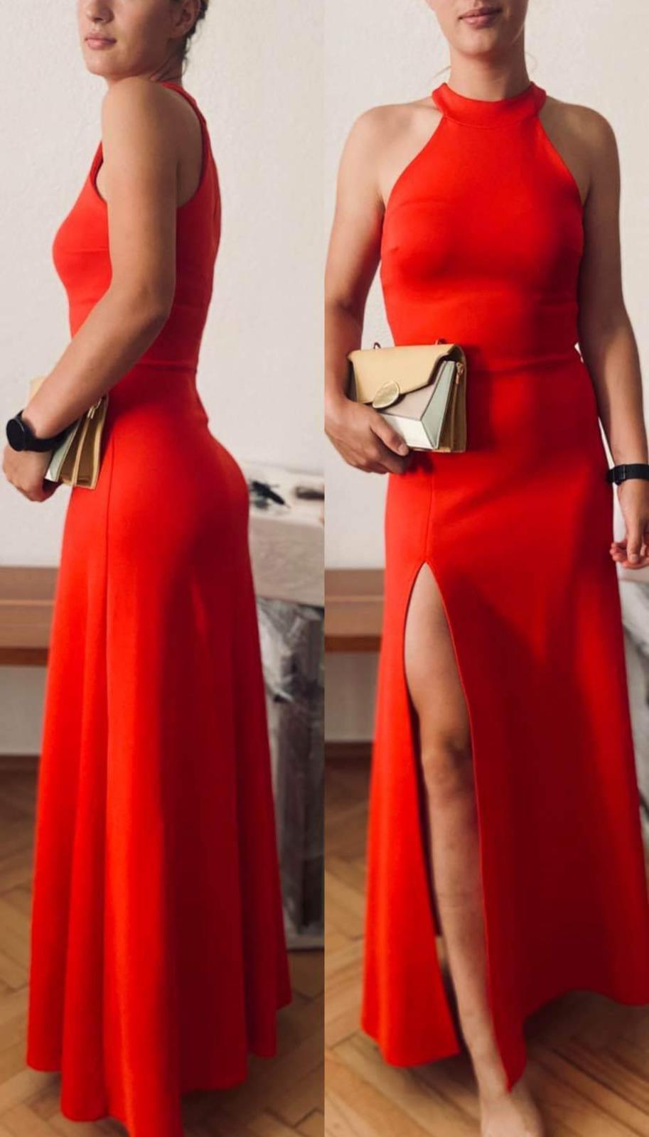 prekrásne červené spoločenské šaty ❤️ - Obrázok č. 1