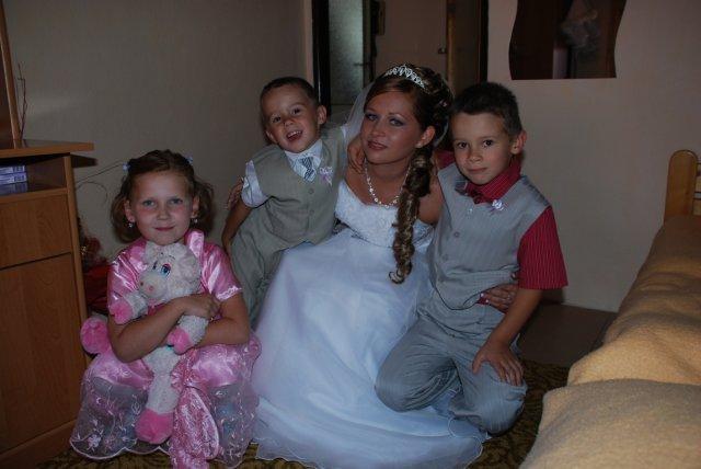 Andrea Briššová{{_AND_}}Ján Murín - s mojimi synovcami..