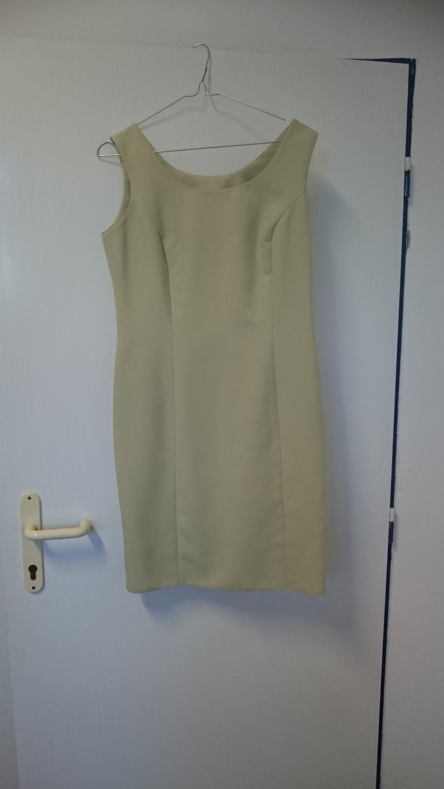 Svetlozelené šaty so sakom - Obrázok č. 2