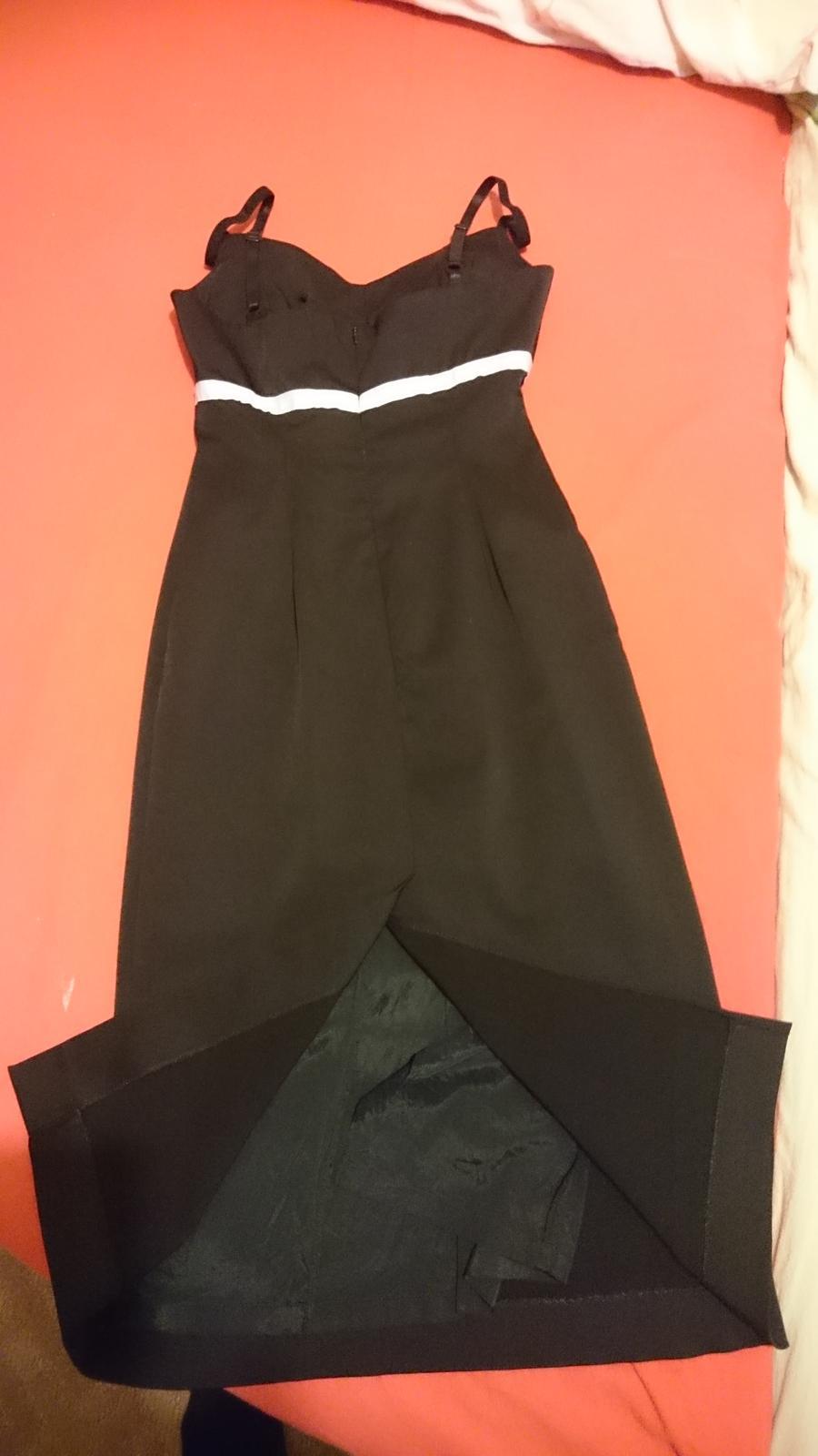 Čierne šaty oasis - Obrázok č. 2