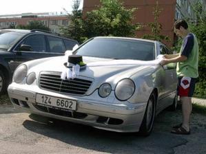 zkouška auta
