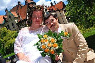 novomanželé Bartoschovi