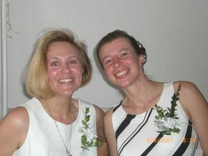 naše svědkyně Iva a Irenka