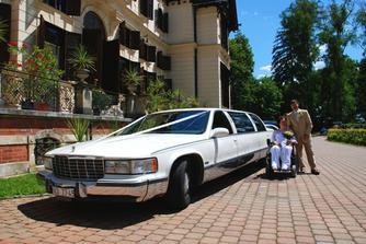 vypůjčila jsem si autíčko jiné nevěsty...