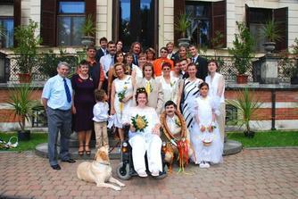 celá naše sláva svatebčanů