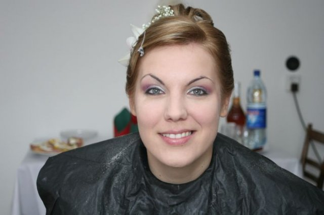 Daška{{_AND_}}Szili - takmer hotový make-up