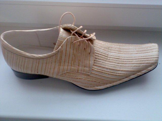 07.07.07 - ženíchove topanky k svadobnemu obleku /ku kremovemu/