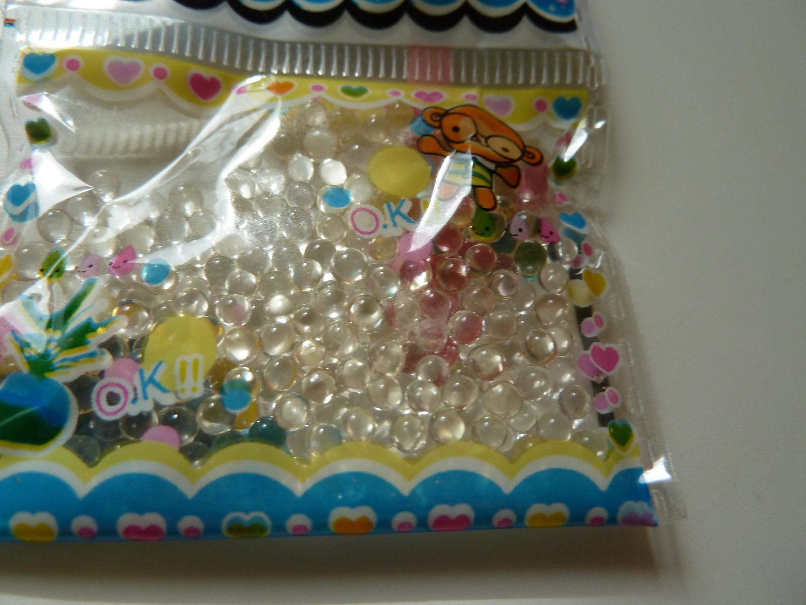 Vodní perly - průhledné - Obrázek č. 1