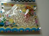 Vodní perly - průhledné,