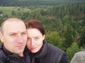 ..svatební výlet... Adršpach......počasí sice nevyšlo podle našich přání, ale i tak bylo fajn...Místo lezení na pískovci jsme si dělali výlety a po výletech jsem  navštívili útulné restaurace :)