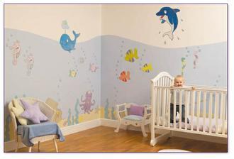 Dětský pokoj ve stylu Mořský svět