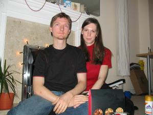 My dva - Vánoce 2006 - sami v Anglii